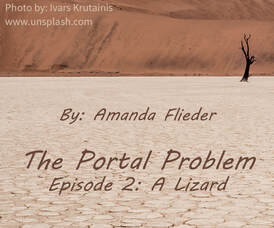 PPE2 - A Lizard, by Amanda Flieder